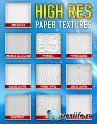 Paper Textures - Текстуры для фотошопа