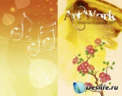 PSD исходник для Фотошопа - ArtWork (PSD Sources)