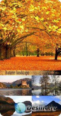 Stock Photo: Autumn landscape