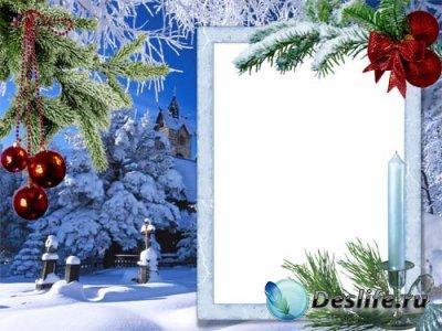 Рамка для фотошопа - Новогодняя Сказка
