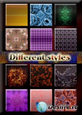 Стили для фотошопа - Different styles