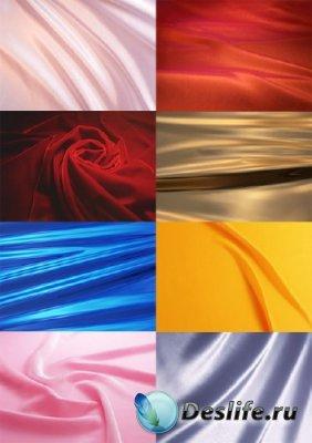 Фоны для фотошопа - Шелковые ткани