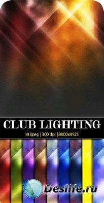 Текстуры для фотошопа - Клубное освещение
