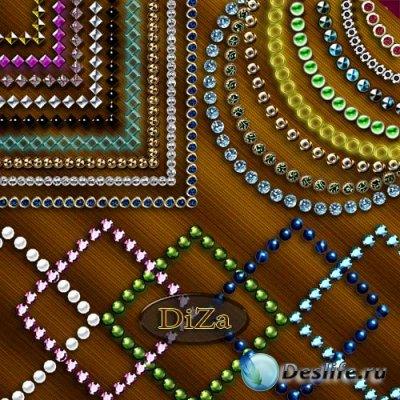 Декоративные рамки для фотошопа - Вырезы - 11