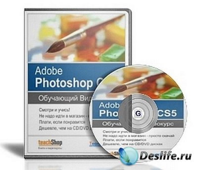 Видеокурс Adobe Photoshop CS5 от TeachVideo (RUS2010) RIP