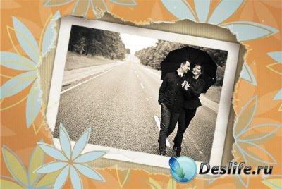 Рамка для фотошопа - Память
