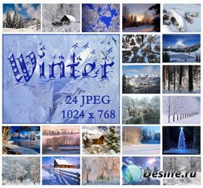 Подборка зимних пейзажей - Обои для рабочего стола