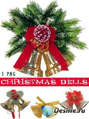 Christmas Bells - Рождественские колокольчики в PNG
