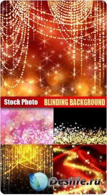 Stock Photo - Blinding Background - Сияющие фоны для фотошопа