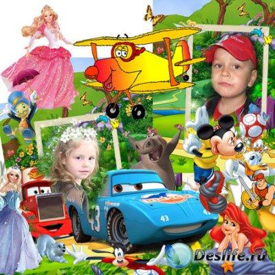Детский альбом для фотошопа