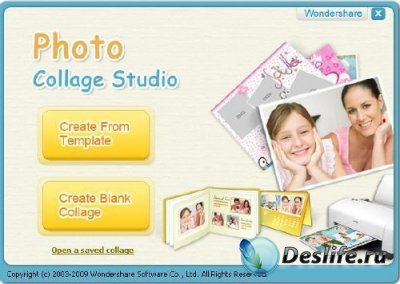 Wondershare Photo Collage Studio 4.2.11.20 Portable + key