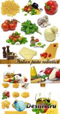 Stock Photo: Italian pasta collection