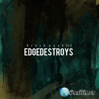Edgedestroys Watercolor Brushes - Кисти для Фотошопа