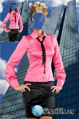 Женский костюм для фотошопа – Предпринимательница