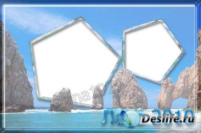 Рамка для фотошопа - Отдых