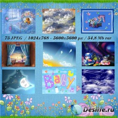 Детские фоны для фотошопа