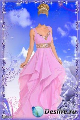 Женский костюм для фотошопа – Нежность