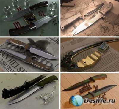 3d модели ножей