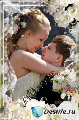 Свадебная рамка для фотошопа - Все для тебя