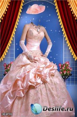 Женский костюм для фотошопа – Прекрасная незнакомка
