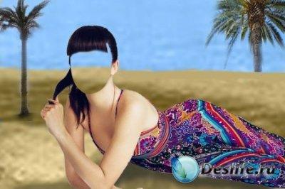Костюм для фотошопа – Под пальмами