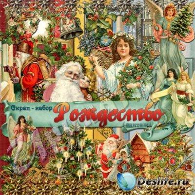 Скрап-набор для фотошопа - Рождество