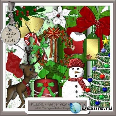Мини скрап-набор - Merry Christmas