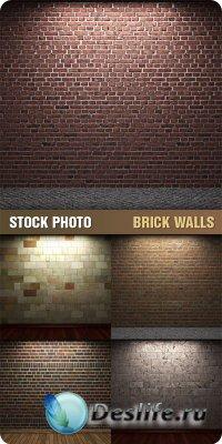 Текстуры для фотошопа - Brick Walls