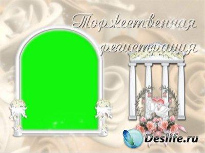 Свадебный футаж «Торжественная регистрация»