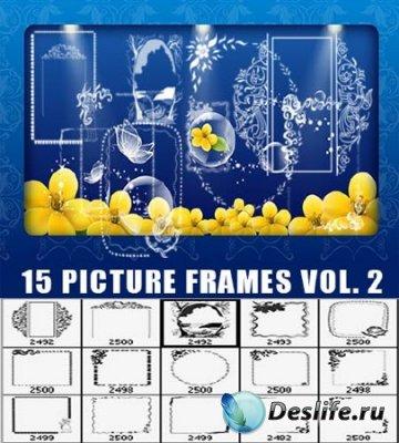 Кисточки для фотошопа - Рамки