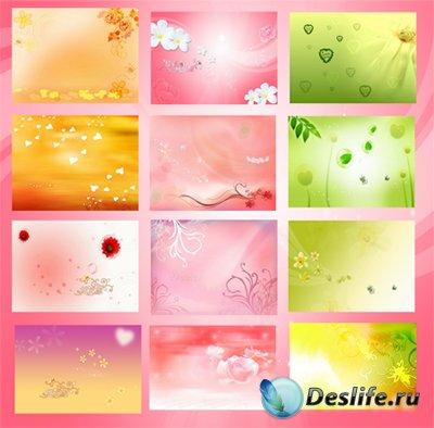 Многослойные фоны для фотошопа