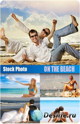Stock Photo - (На пляже) On the beach