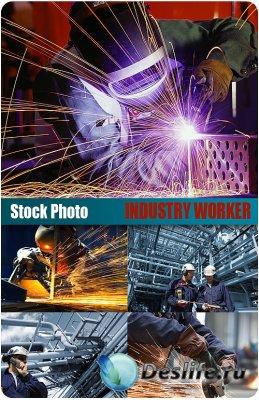 UHQ Stock Photo - (Промышленные рабочие) Industry workers