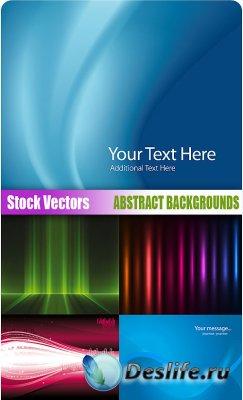 Stock Vectors - (Абстрактные фоны для фотошопа) Abstract backgrounds