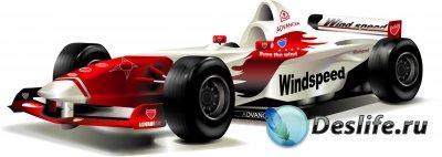 Formula 1 Vectors - Векторные клипарты