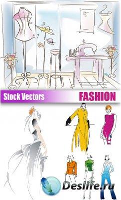 Stock Vectors - Fashion