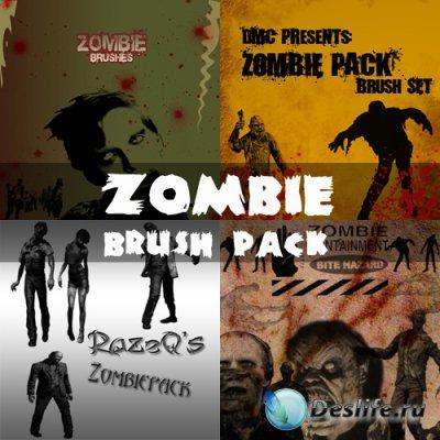 Zombie Brush Pack - Кисти для фотошопа