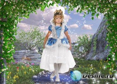Детский костюм для фотошопа - Маленькая фея