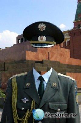 Костюм для фотошопа – Кремлевский солдат