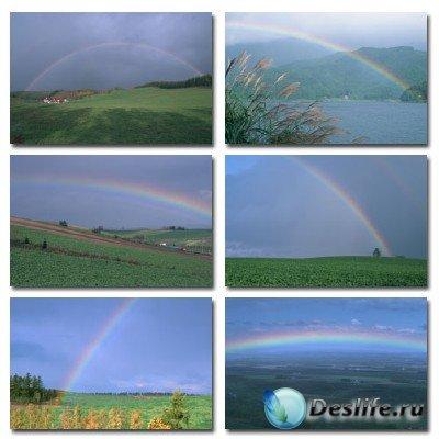 Набор профессионального клипарта Over The Rainbow (Радуга)