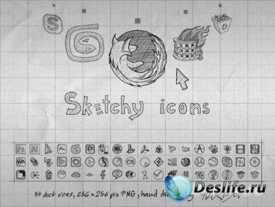 Sketchy Icons - Иконки