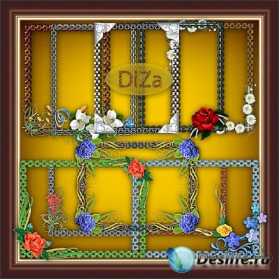 Декоративные рамки для фотошопа 13