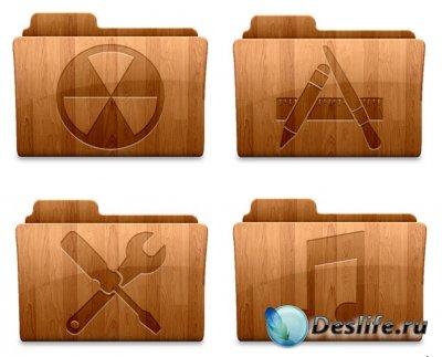 Иконки Wood