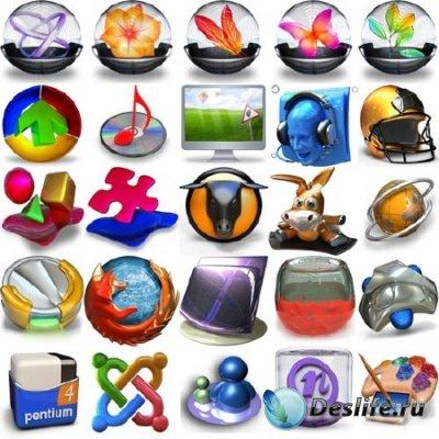3D иконки