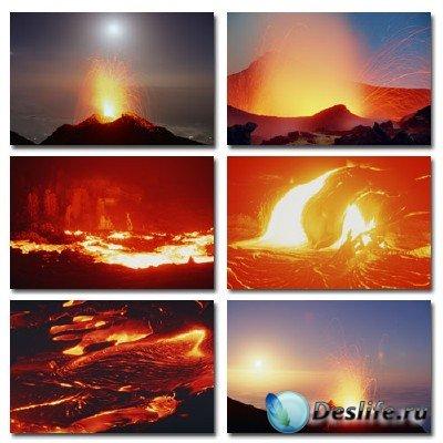 Набор профессионального клипарта Volcano Time