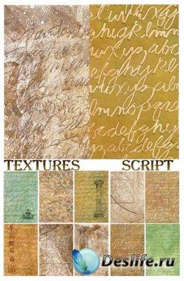 Текстуры для фотошопа - Script