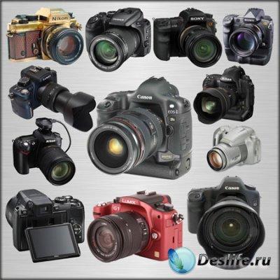 Клипарт - Фотоаппараты
