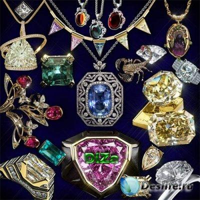 Клипарт драгоценности, камни