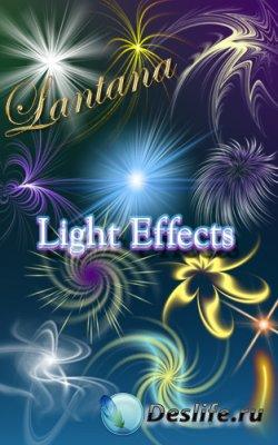 Клипарт для фотошопа - Light Effects