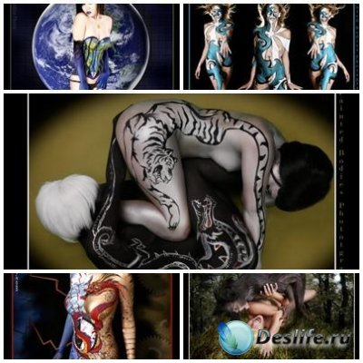 22 Xyzu Art Painted Bodies Pics